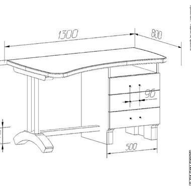 Детская Радуга-3 Финн стол письменный