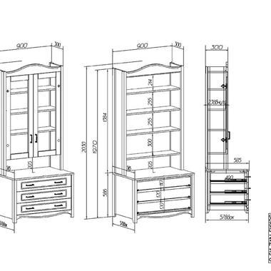 Детская Снежана шкаф
