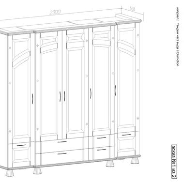 Спальня Селена шкаф