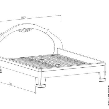 Спальня Лира кровать