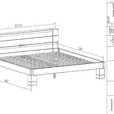 Спальня Карина кровать